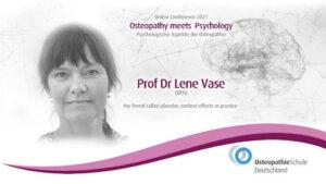 Prof Dr Lene Vase